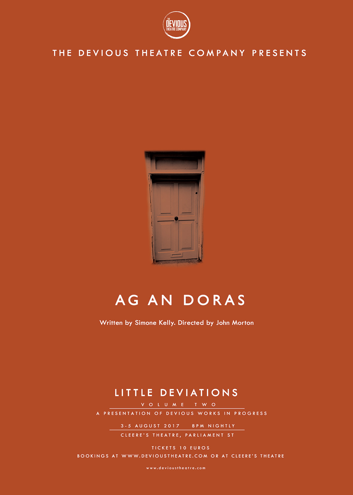 Little Deviation #1: Ag An Doras