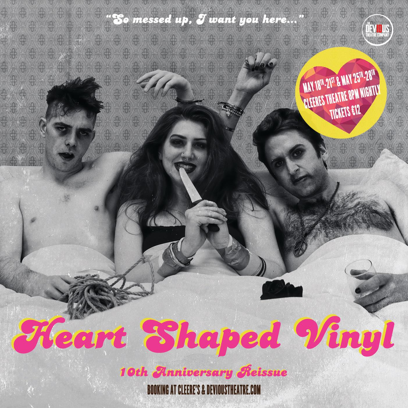 Heart Shaped Vinyl – 1970's