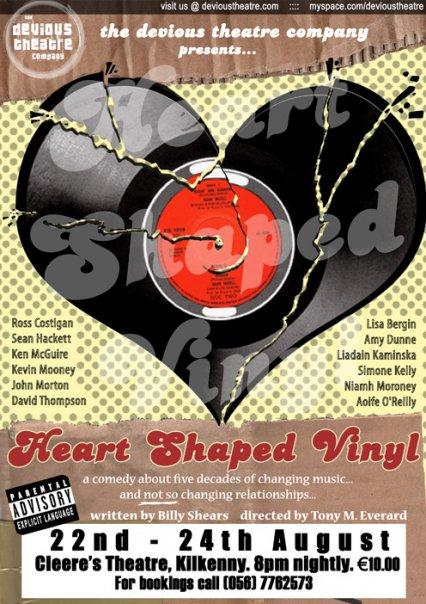 Announcing Heart Shaped Vinyl