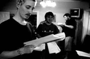 Kitchen rehearsals