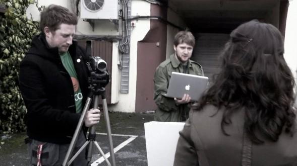 Scratcher Trailer Filming