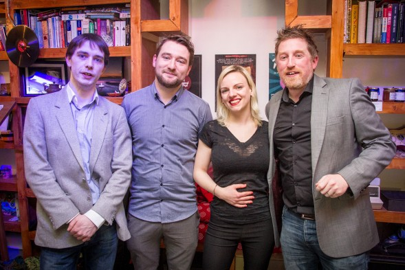 L-R: Kevin Mooney, John Morton, Niamh Moroney, Ken McGuire.