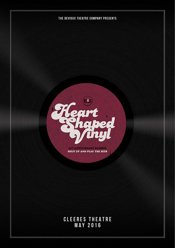 Devious 10 Announcement: Heart Shaped Vinyl