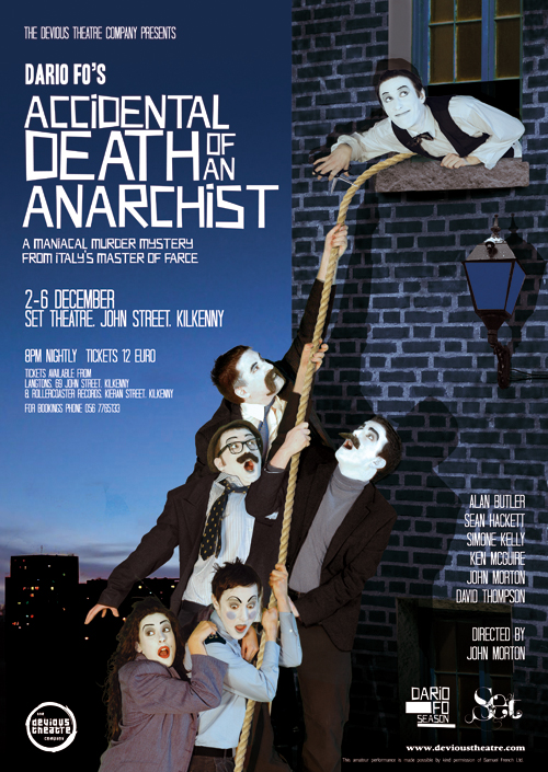Accidental Death of an Anarchist - Final Poster
