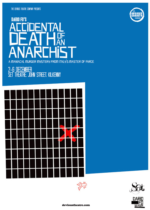 Accidental Death of an Anarchist - Teaser Poster